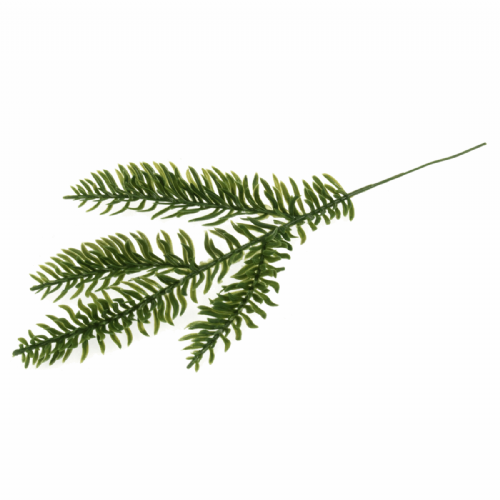 Leaves Pine 25cm 12 x 1 Branch